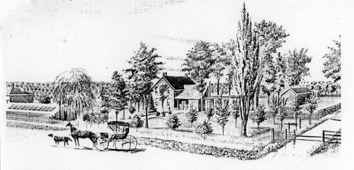 The Catlin Home in 1897